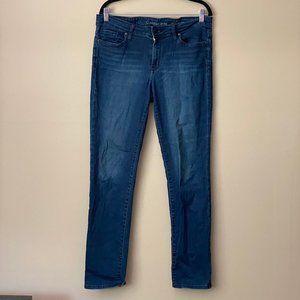 Calvin Klein Ultimate Skinny dark-wash jeans